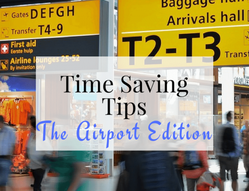 Airport Time Saving Tips