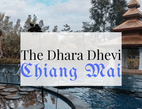 The Dhara Dhevi, Chiang Mai