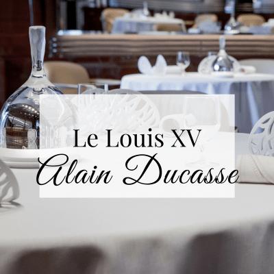Le Louis XV Alain Ducasse