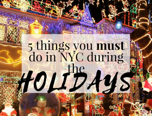 5 things you must do in NYC during the holidays