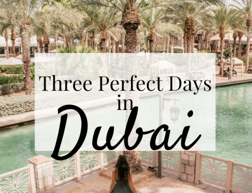 Three Remarkable Days in Dubai