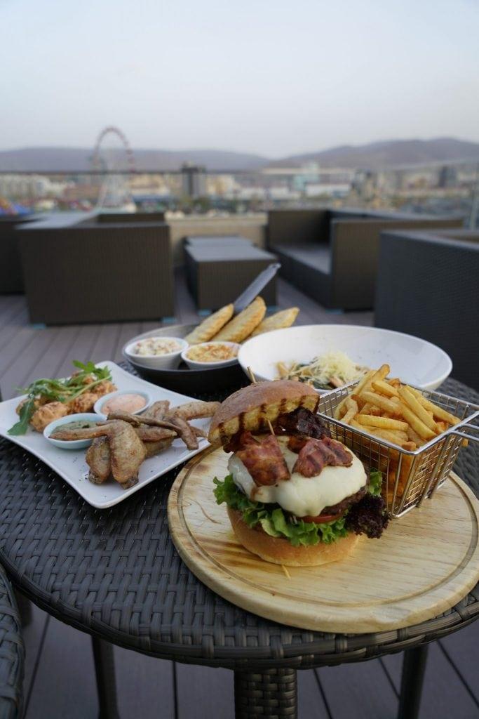 Dinner at Shangri La Ulaanbaatar
