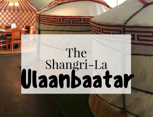 5 Star Luxury in Mongolia: Shangri-La Hotel, Ulaanbaatar