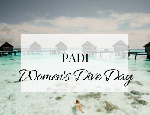 Celebrating PADI Women's Dive Day!