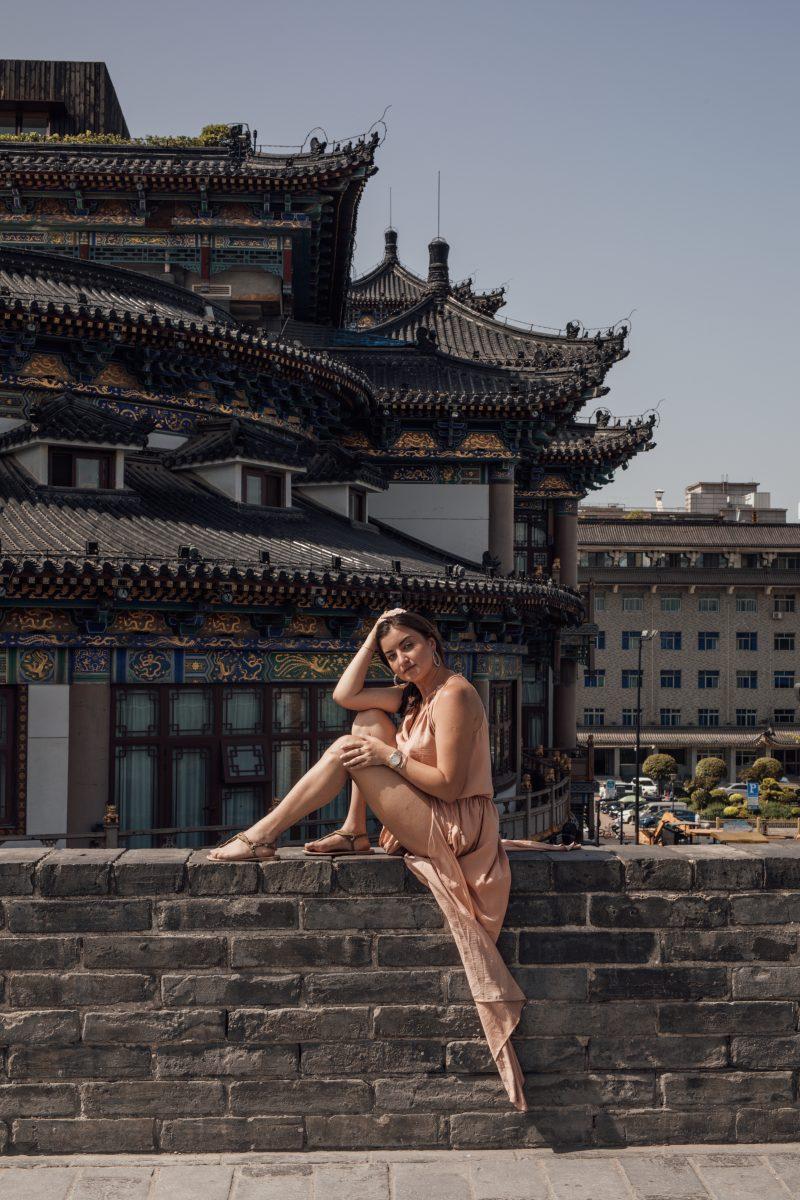 Ancient city Wall Xi'an China