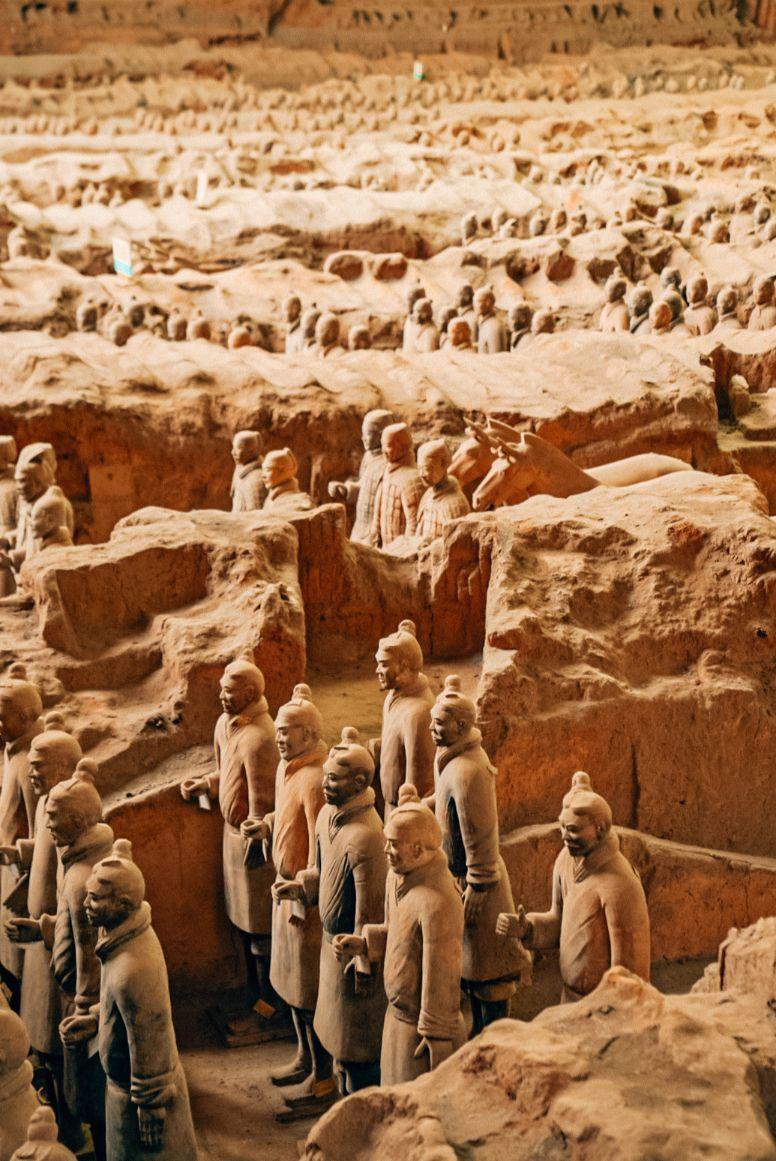 Terracotta Warriors Xi'an China