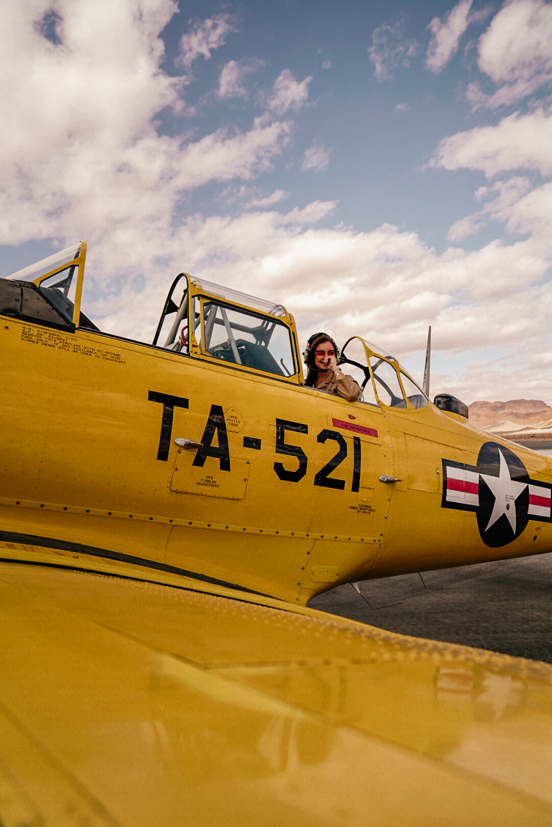 north american t-6 harvard texan vintage plane