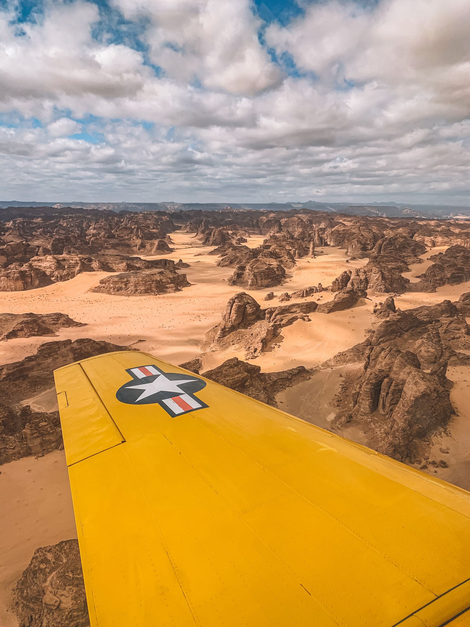 aerial views of Al-Ula Saudi Arabia