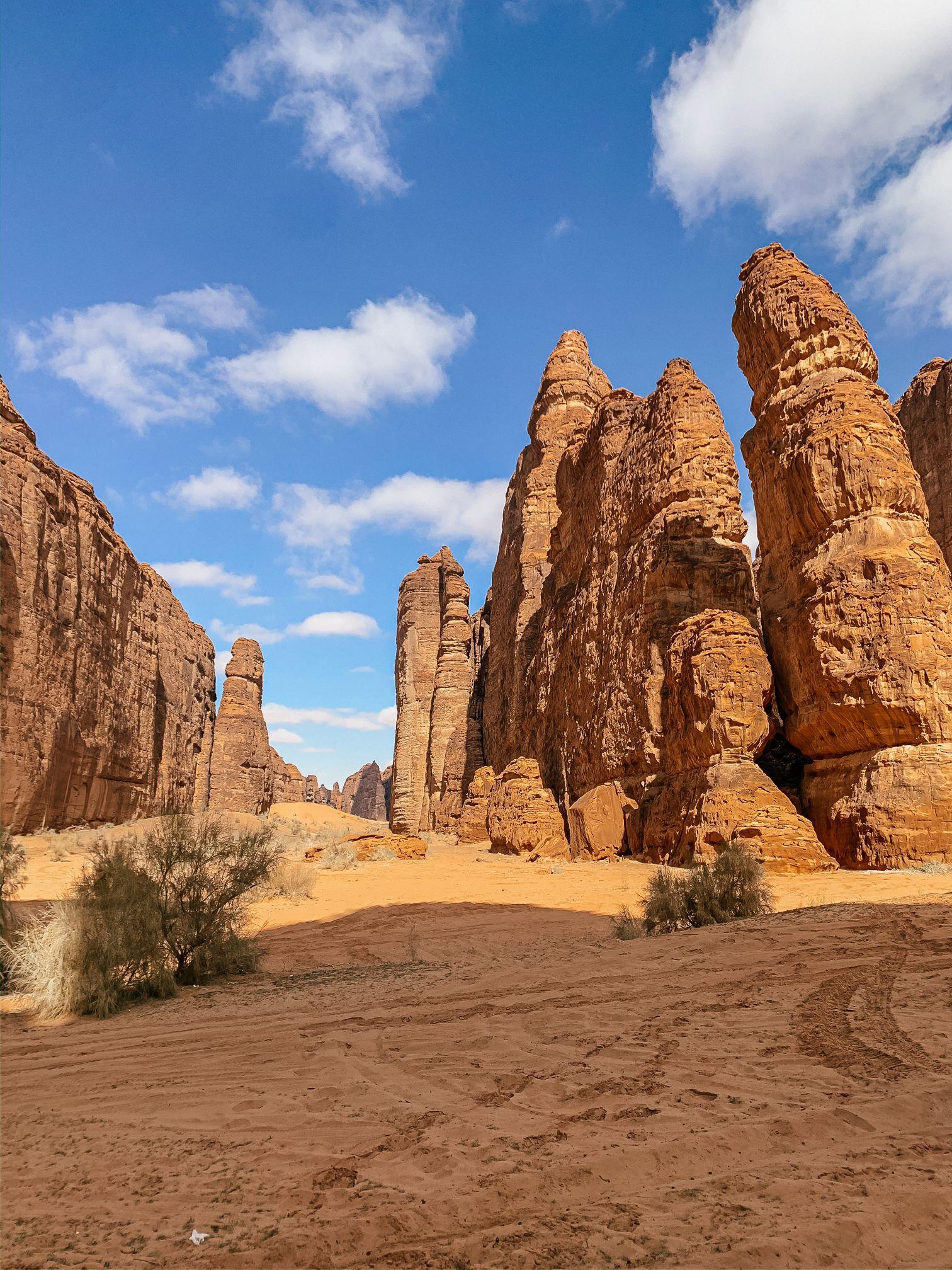 Desert in Al Ula Saudi Arabia