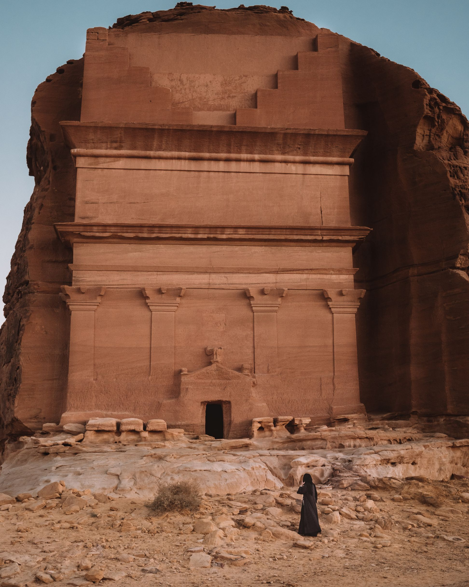 Madain Saleh historic site Al-Ula Saudi Arabia