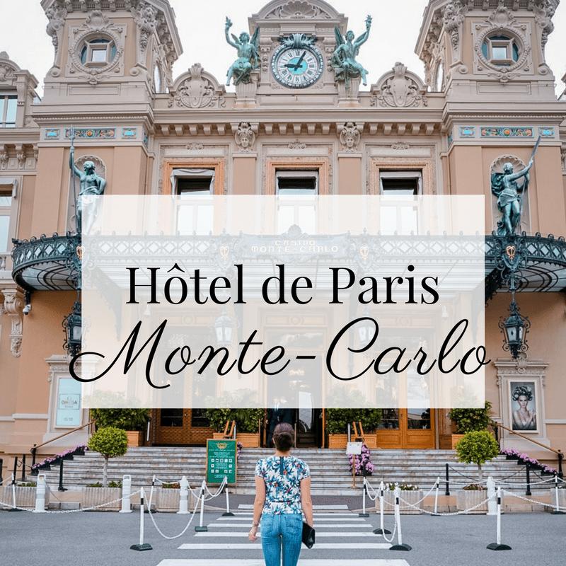 Hôtel de Paris Monte Carlo