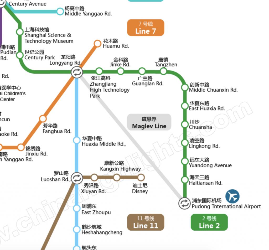 Subway Man of Shanghai, China