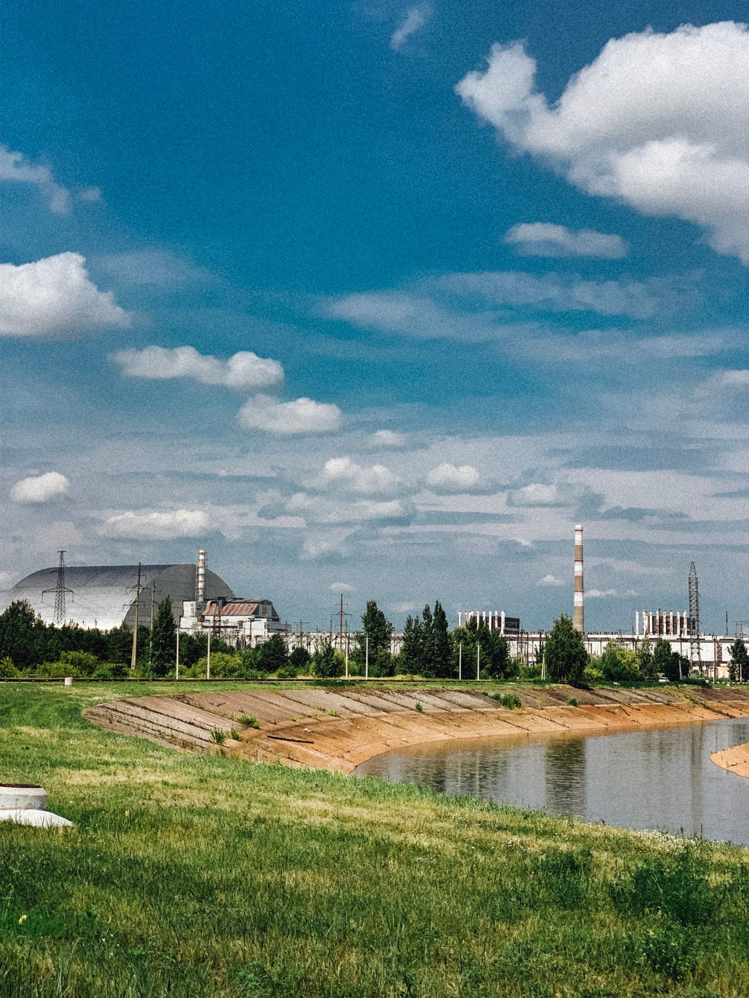 The Chernobyl Nuclear Power Plant in the Exclusion Zone